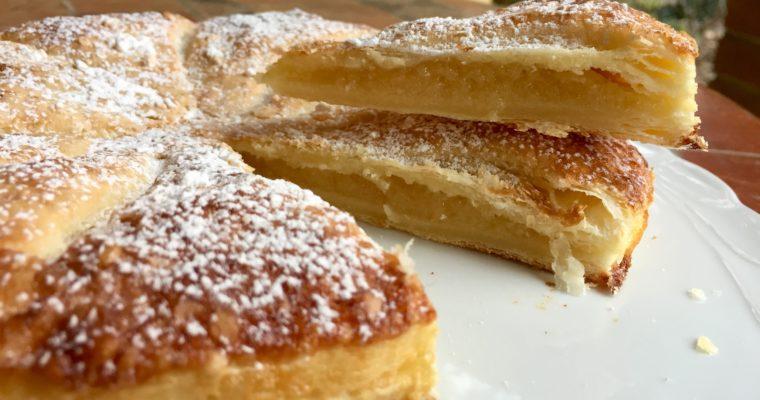 Almond pastry puff di Jamie Oliver per lo starbooks di gennaio