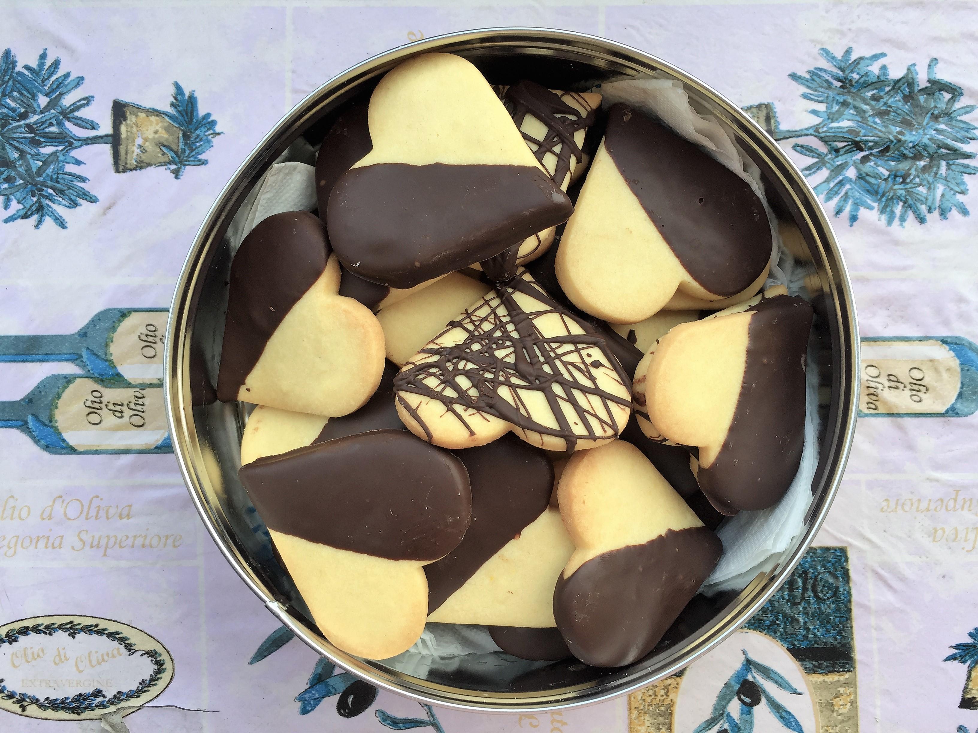 Biscotti sablée alla vaniglia