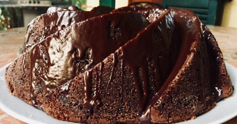 Bundt cake al doppio cioccolato