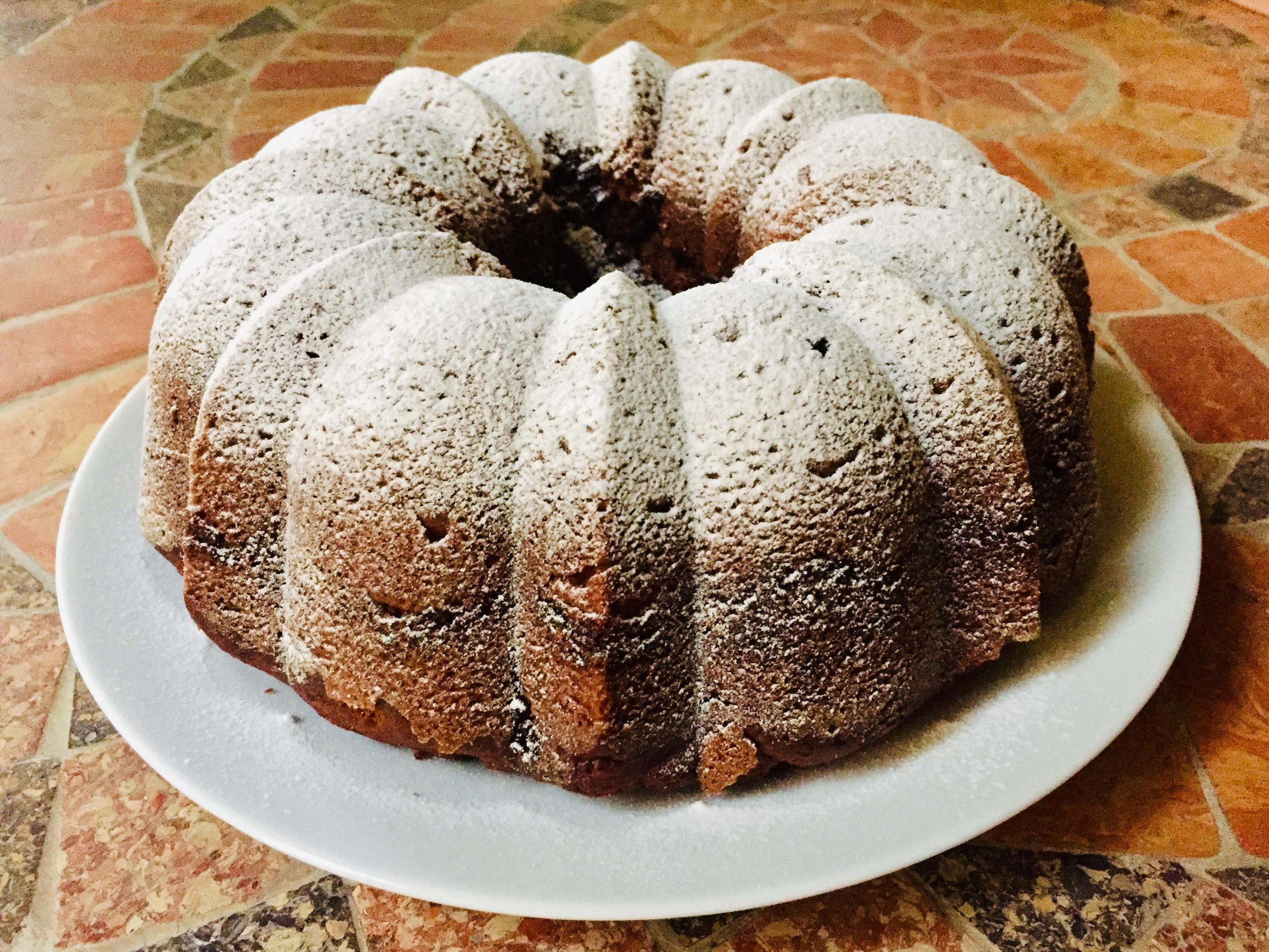 Bundt cake alla zucca e spezie chai