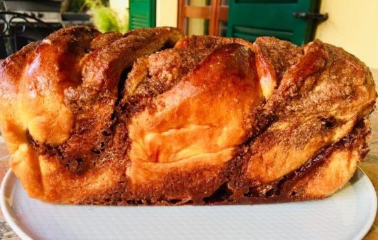 Babka con spezie chai – Brioche intrecciata con cannella e spezie