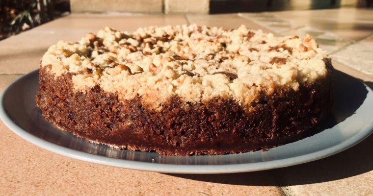 Crostata al cioccolato, pere e noci (Crunchy Paradise di Gianluca Fusto)