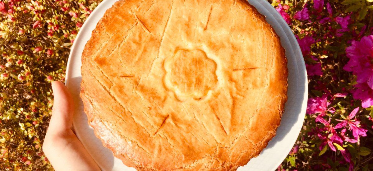 Crostata alla ricotta con arancia e semolino (sfogliatella frolla)