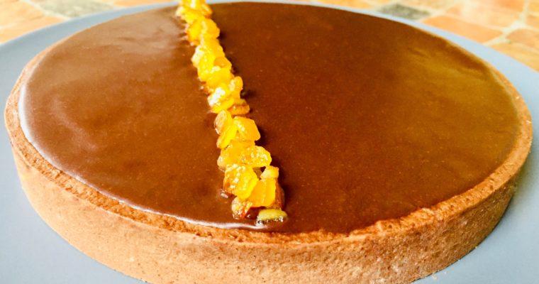 Crostata arancia e cioccolato (Hélice di Gianluca Fusto)
