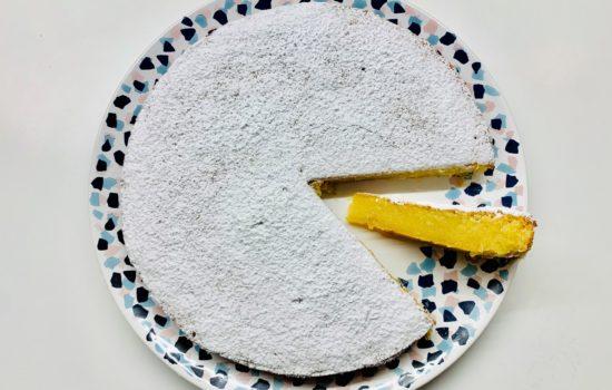 Torta portoghese alle mandorle e amaretto
